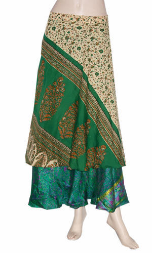 Multi Wear Saree Wrap Skirt
