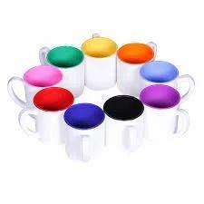 11 OZ Polymer Two Tone Mug - Pink