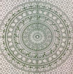 Indian Mandala Bed Sheet