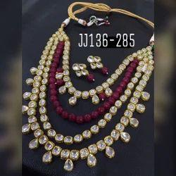 Bridal Beads Kundan Necklace