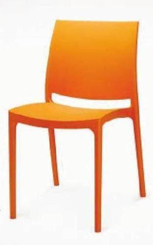 Orange Restaurant Chair