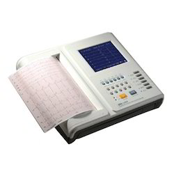 Digital Twelve Channel ECG Machine