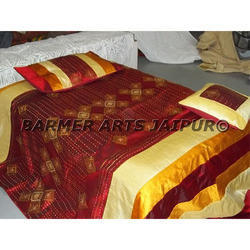 Designer Bed Sheets Rajwada Work