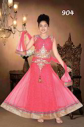 Kids Embroidered Lehenga