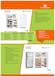 White Westinghouse Top Mount Refrigerators
