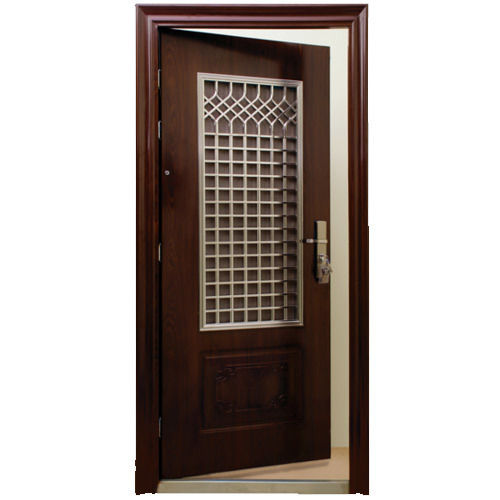 Steel Safety Door Steel Double Safety Door Manufacturer From New Delhi
