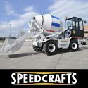 Self Loading Concrete Mixer Truck (DS 4000)