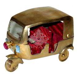 Brass Auto Rickshaw