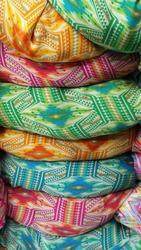 Satin Georgette Printed Fabrics