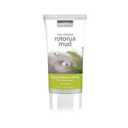 Rotorua Mud Facial Wash with Lime Blossom