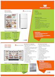 White Westinghouse Upright Freezer