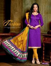 Purple Party Wear Salwar Suit