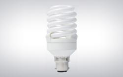 12 W Full Spiral CFL Bulb