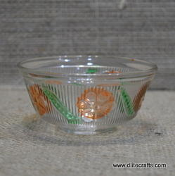 Glass Color Bowl