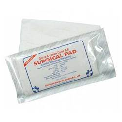 surgical pad gauze cotton tissue