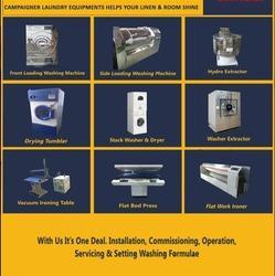Laundry And Drycleaning Machines