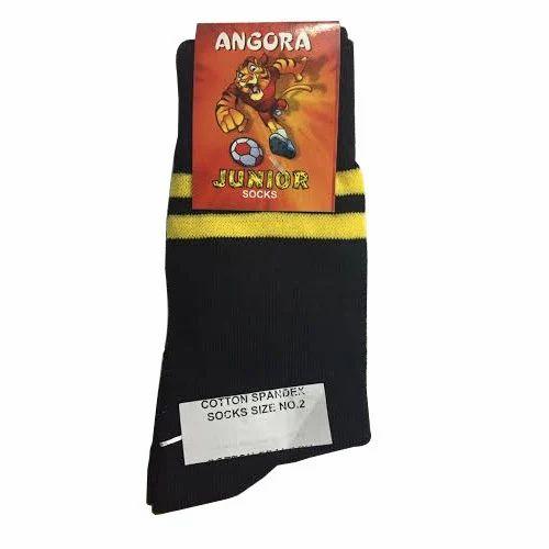Cotton Spandex School socks