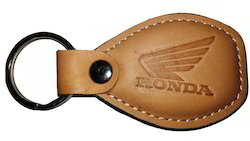 Flate Key Ring leather