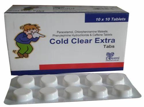 Paracetamol Phenlyphrine Caffeine