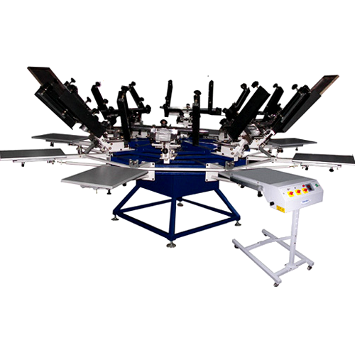 Manual Chest Screen Printing Machine