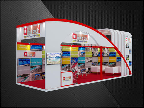 Exhibition Stall Design : Shree pithad innovators manufacturer of interior