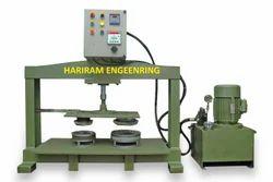 Semi Auto Hydraulic Paper Plate Making Machine