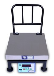 150 Kg Bench Digital Weighing Scale Platter Size:300-300MM