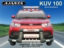 kUV100 Front Guard PU Steel Forester Front Guard.Ajanta ACC