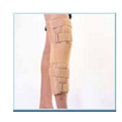 Knee Brace Long Closed Patella