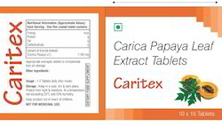 Carica Papaya Leaf Extract Tablets