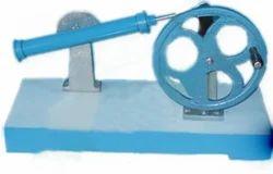 Crank Drive to Oscillating Link Mechanism Model