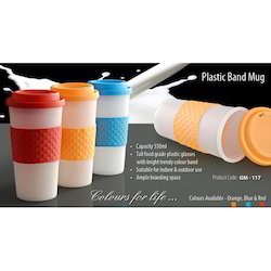 Plastic Band Coffee Mug