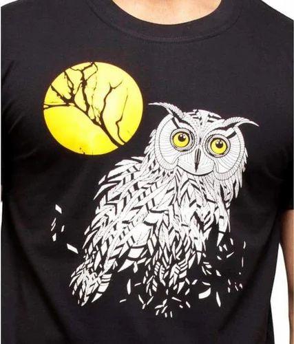 Night owl moon tattoo