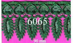 Elegant Sequence Polyester Lace