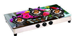 3 Burner Glass Top Cook Top