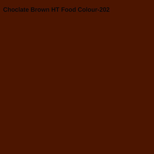 Choclate Brown HT Food Colour