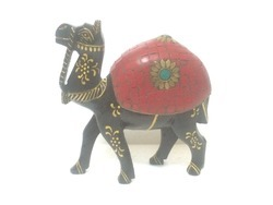 Wooden Stone Chipes Camel