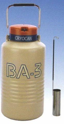 BA3 Liquid Nitrogen Container