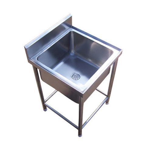 Commercial SS Single Sink Unit