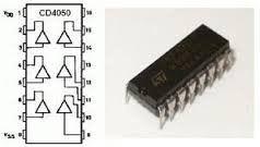 CD4050 / HEF4050 DIP