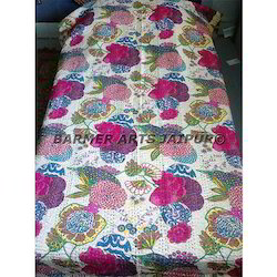 Gudri Fruit Print Kantha Work