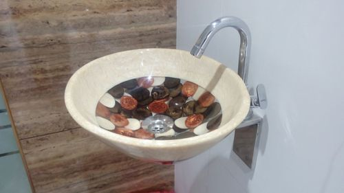 Prayosha Oval Ivery Resin Washbasin