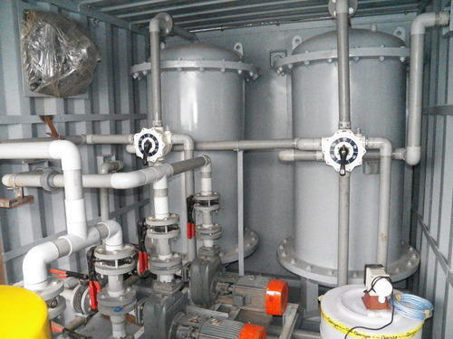 Containerized Sewage / Industrial Effluent Treatment Plant
