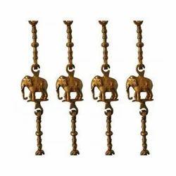 Brass Elephant Swing Chain