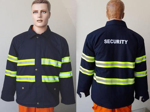 Security Jacket - Hi Visible Green Tape