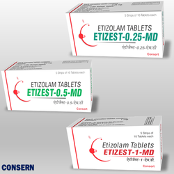 Etizolam Md Tablets (Etizest MD)