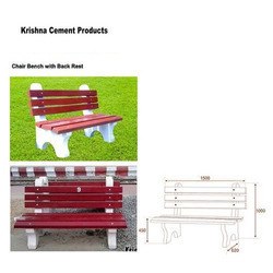 rcc precast decorative bench