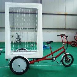 Manual Advertising Trike Rickshaw