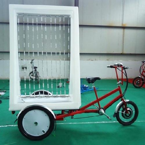 Manual Advertising Trike Rickshaw
