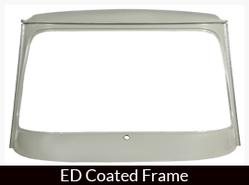 Bajaj Frame (ED Coated) Windshield